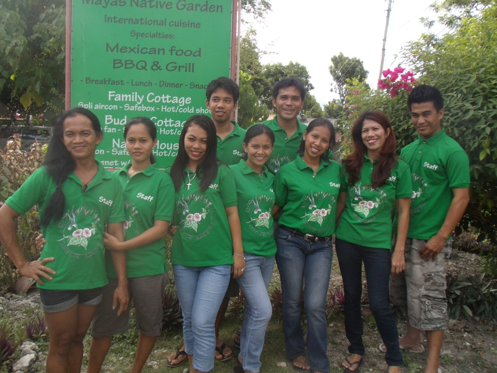 Mayas Native Garden Staff